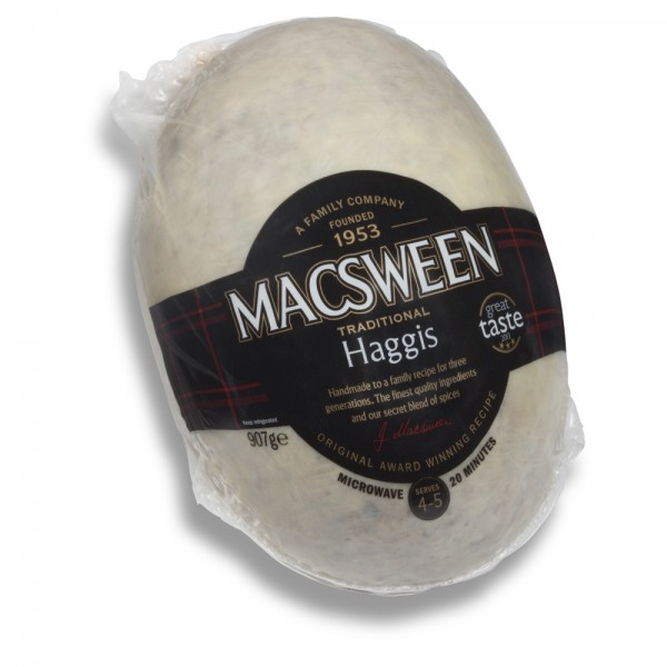 MacSweens Traditional Haggis, Clansman 907 g