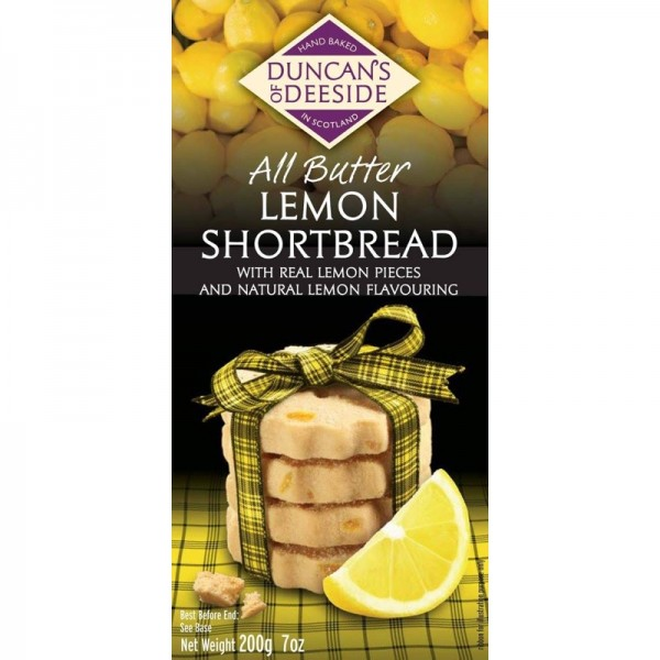 Lemon Scottish Shortbread