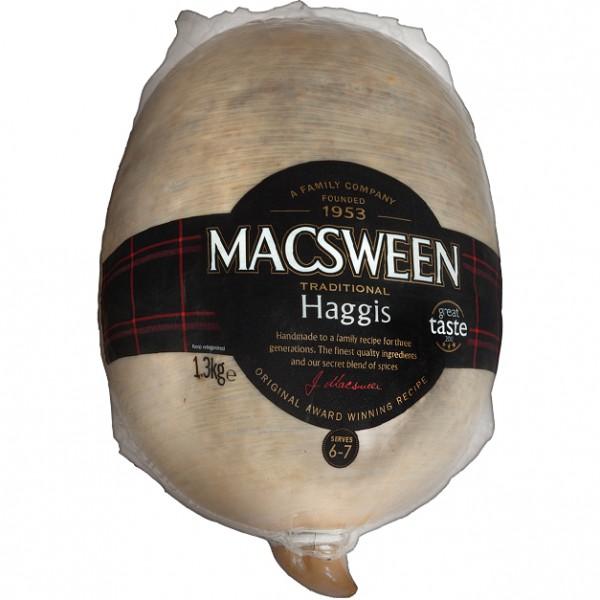 MacSweens Traditional Haggis, Clansman 1.36 kg